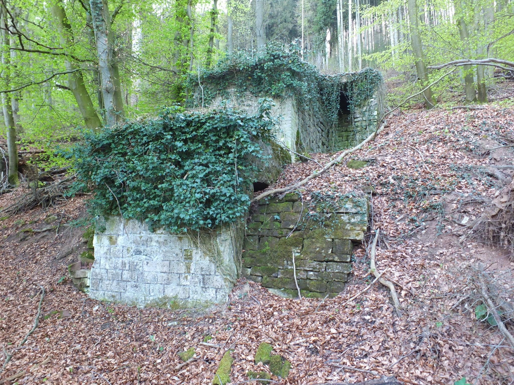 Reste der technischen Anlage des Bremsbergs (© Birgit Kausch)