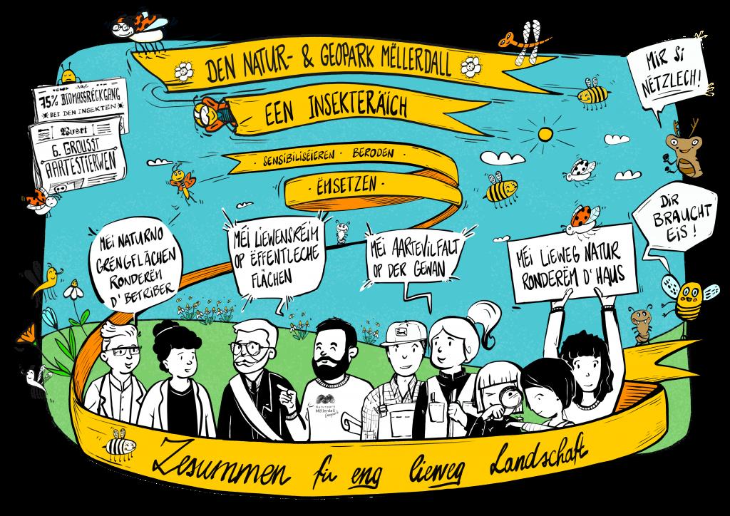 D'Naturparken zu Lëtzebuerg – (een) Insekteräich